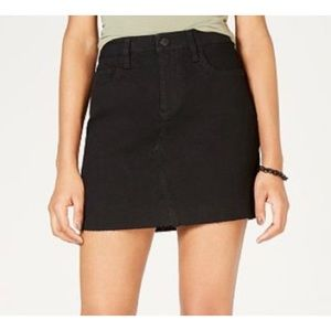 NWT Celebrity Pink Black Jean Skirt